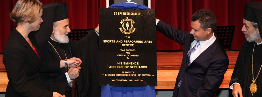 St Spyridon College Opening Ceremony