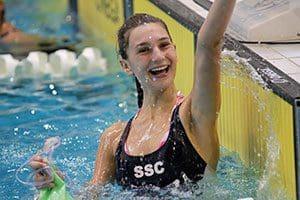 St Spyridon - Learning to swim