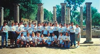 1993 supporting Sydneys bid for the 2000 Olympics