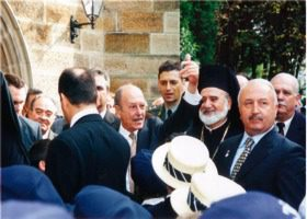 2002 President of Greece visit