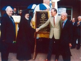 2001 Official opening of Junior School Campus