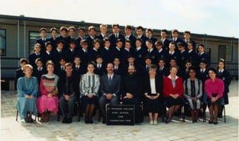 1988 High School Pioneer students